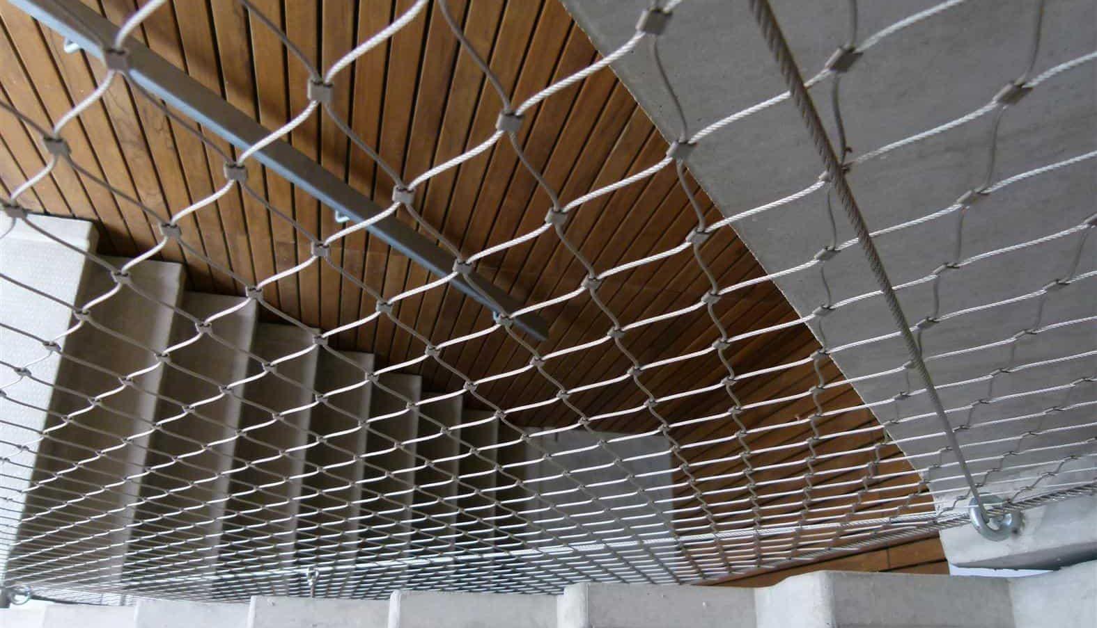 Close-up van de MD Nettick plafond toepassing bij Boogie Woogie in Amersfoort