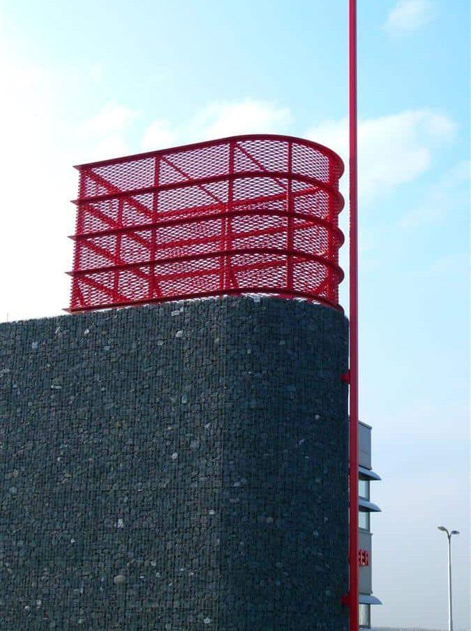MD Strekmetaal toren bij het Brandweerpost in Alblasserdam