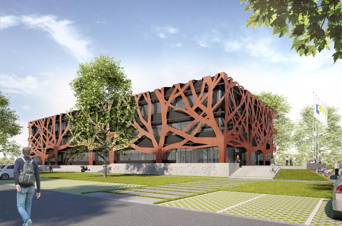 Ontwerp MD Designperforatie Graafschap College Doetinchem
