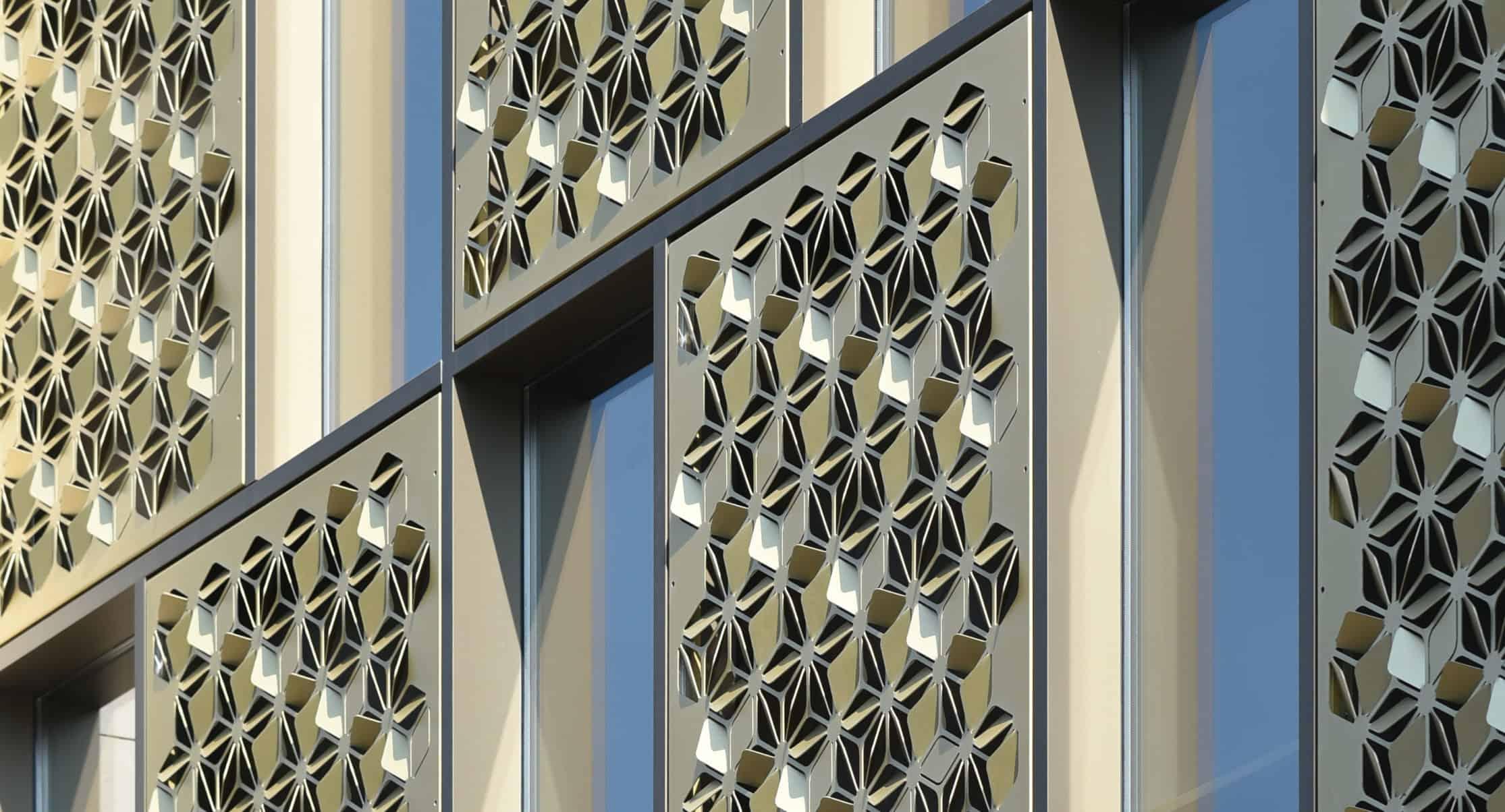 MD Formatura perforatie gevelbekleding MD Formatura perforation facade