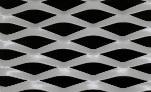Voorbeeld MD Strekmetaal van aluminium gevelbekleding type MD Gate
