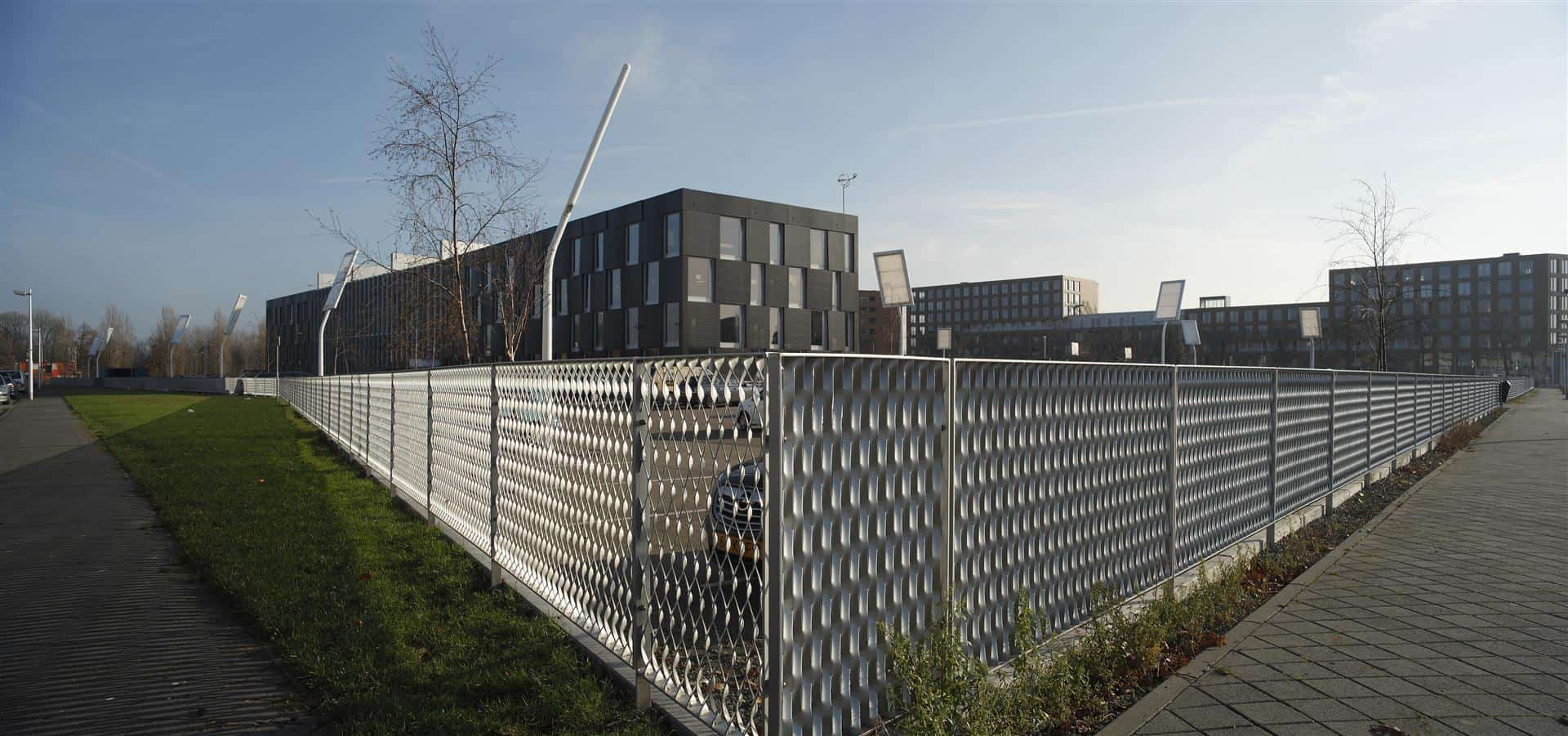 MD Strekmetaal gevelbekleding MD Expanded metal facade