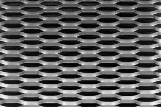 Voorbeeld MD Strekmetaal van aluminium gevelbekleding type MD Fils21