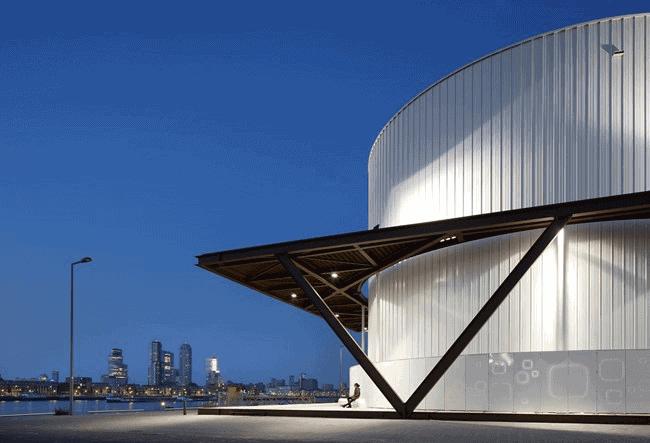 Impressie van de Warmtehub in Rotterdam
