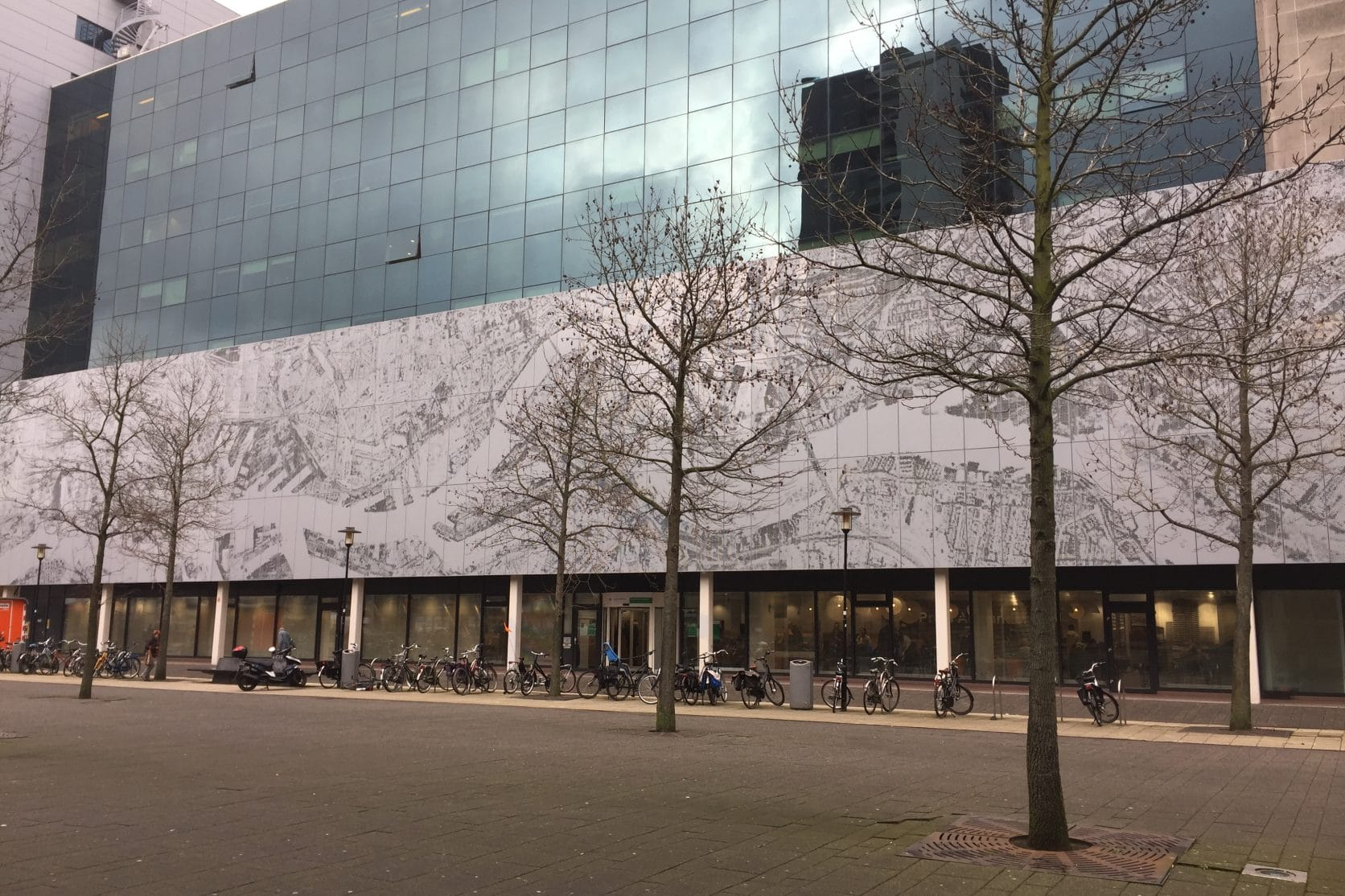 Overzichtsfoto MD Designperforatie Prins Alexanderplein Rotterdam