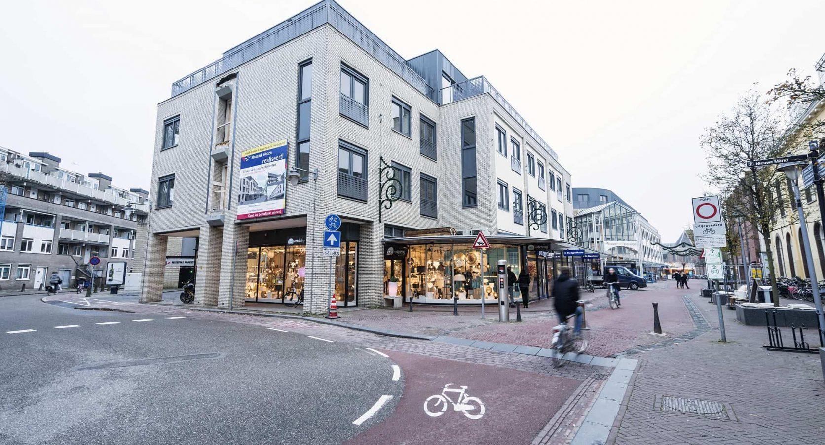 Appartementencomplex Agnietenstraat in Gouda met MD Designperforatie