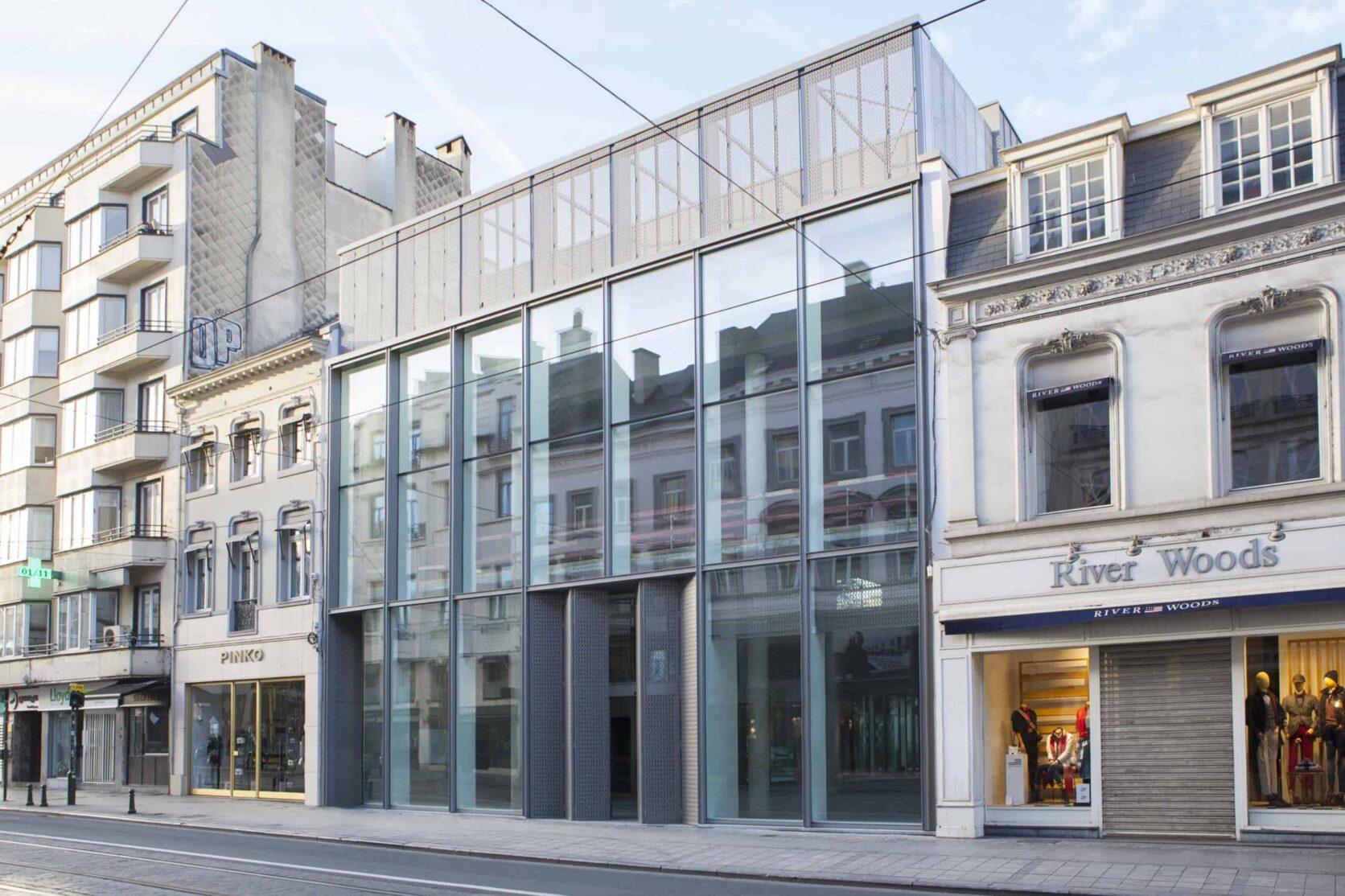 Garden Store Louise in Brussel, België met MD Designperforatie