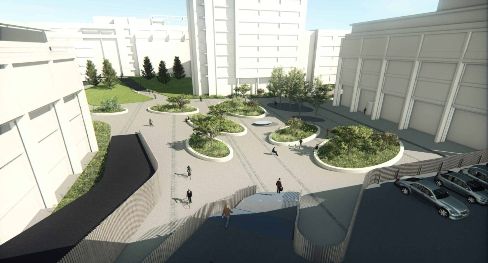 Kantoorcomplex Secoya in Utrecht voorzien van MD Strekmetaal