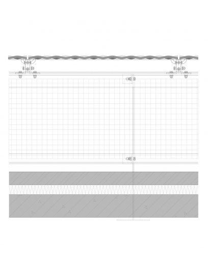 Voorbeeld details STC111 MD Clips, een bevestigingssysteem voor MD Strekmetaal gevelbekleding