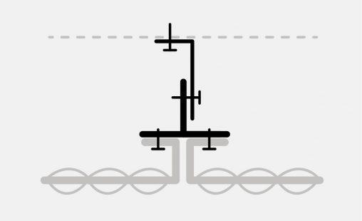 Pictogram van het bevestigingsysteem FOR111 voor gevelbekleding met MD Formatura