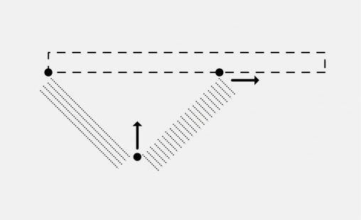 Voorbeeld van een bevestiging bij MD Strekmetaal met STA112