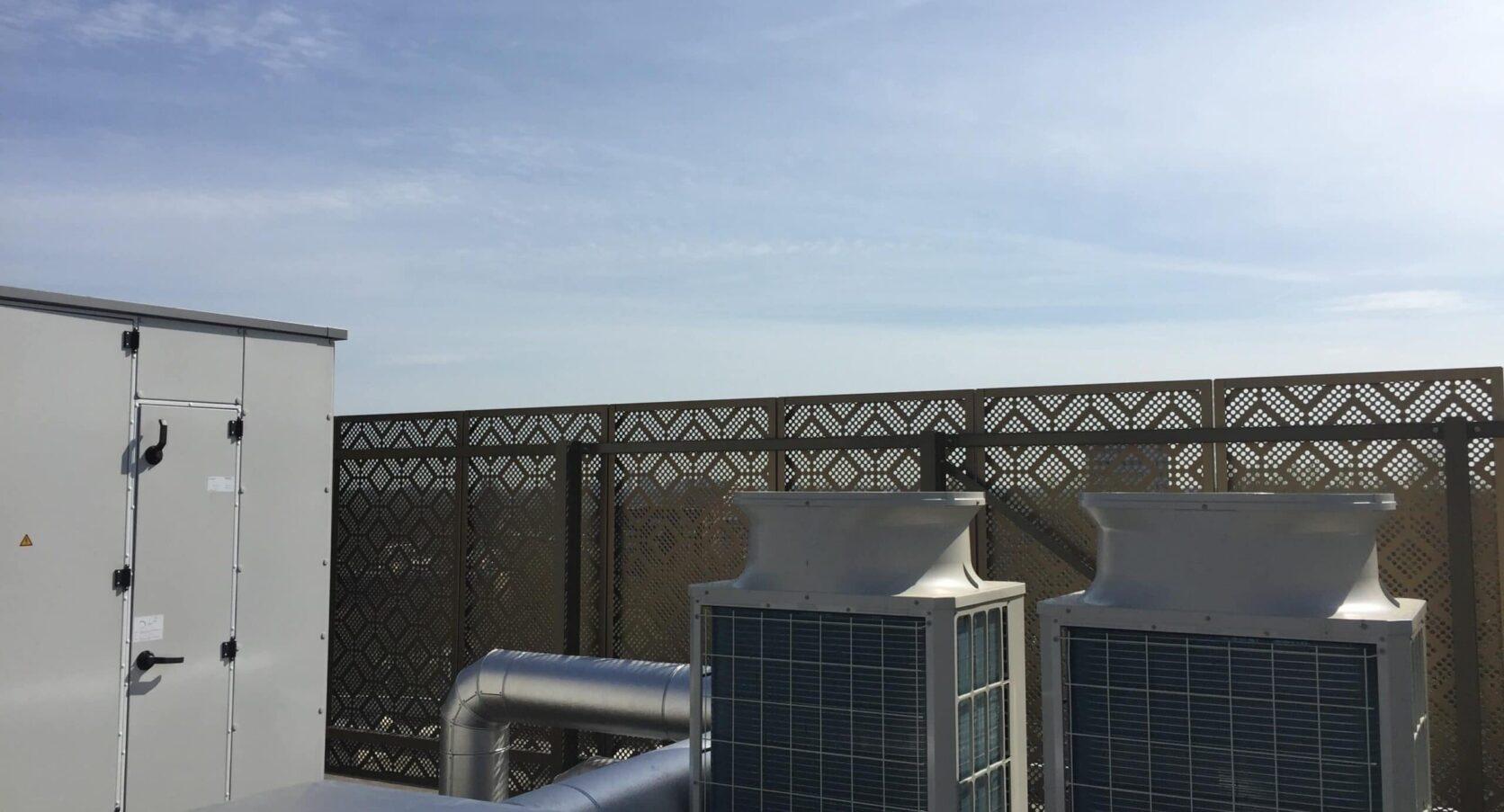 The City Garden in Amstelveen voorzien van dakopbouw met MD Designperforatie panelen