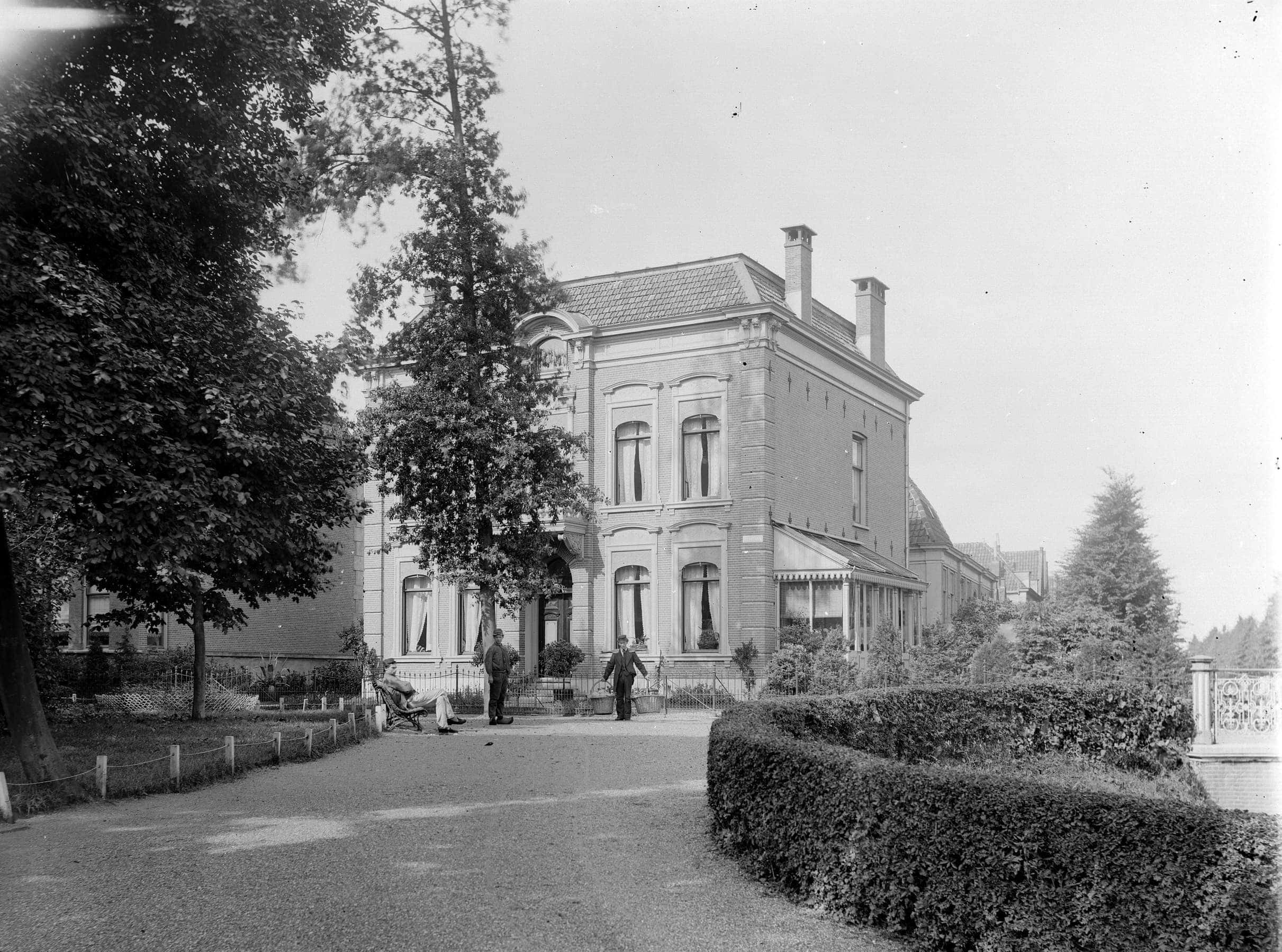 Plantsoen in Leiden historisch pand
