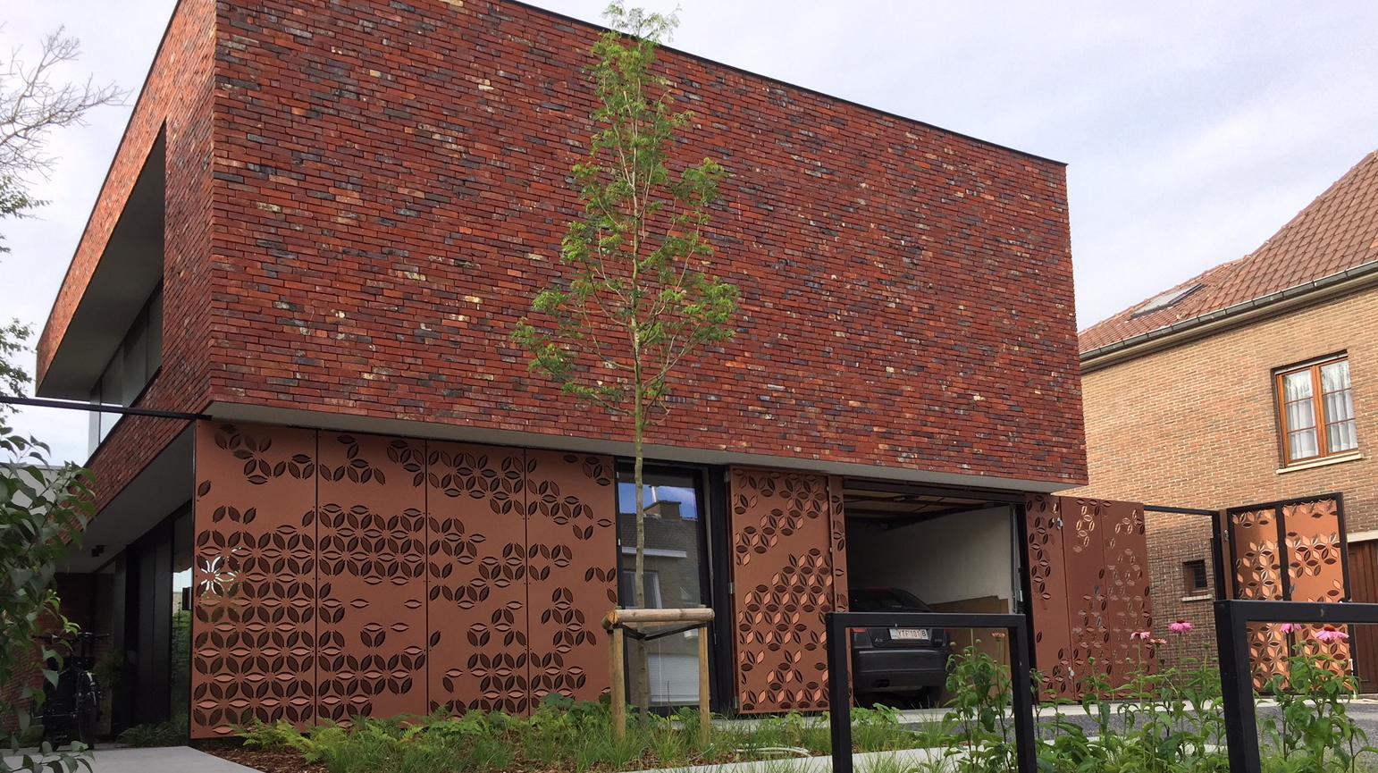 Woning in Kortrijk met MD Formatura panelen