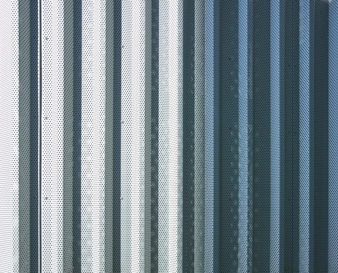 MD Designperforatie geanodiseerd aluminium panelen Pieter Baan Almere