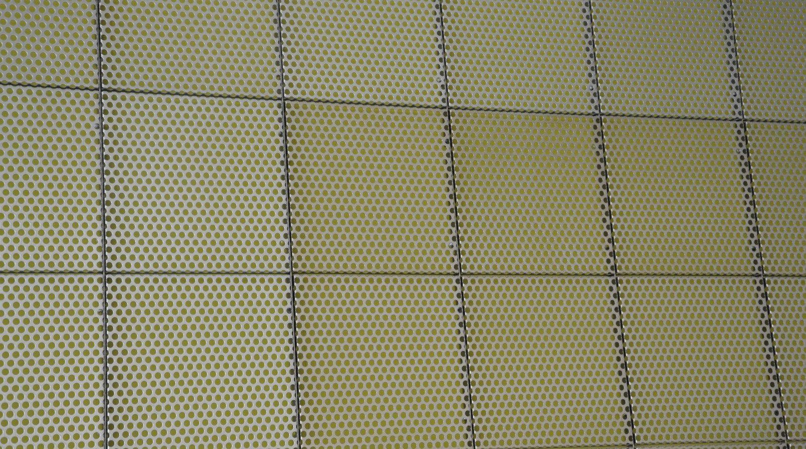 MD Designperforatie panelen Amstelcampus Interieurbekleding