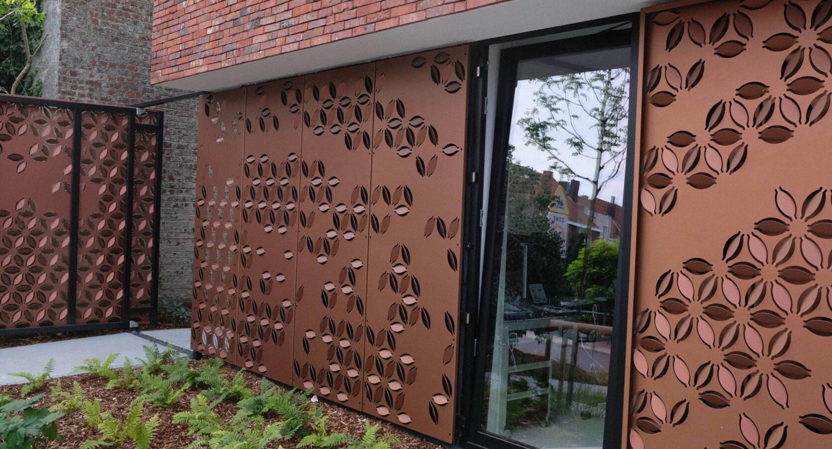 Combinatie van raam en panelen van MD Formatura