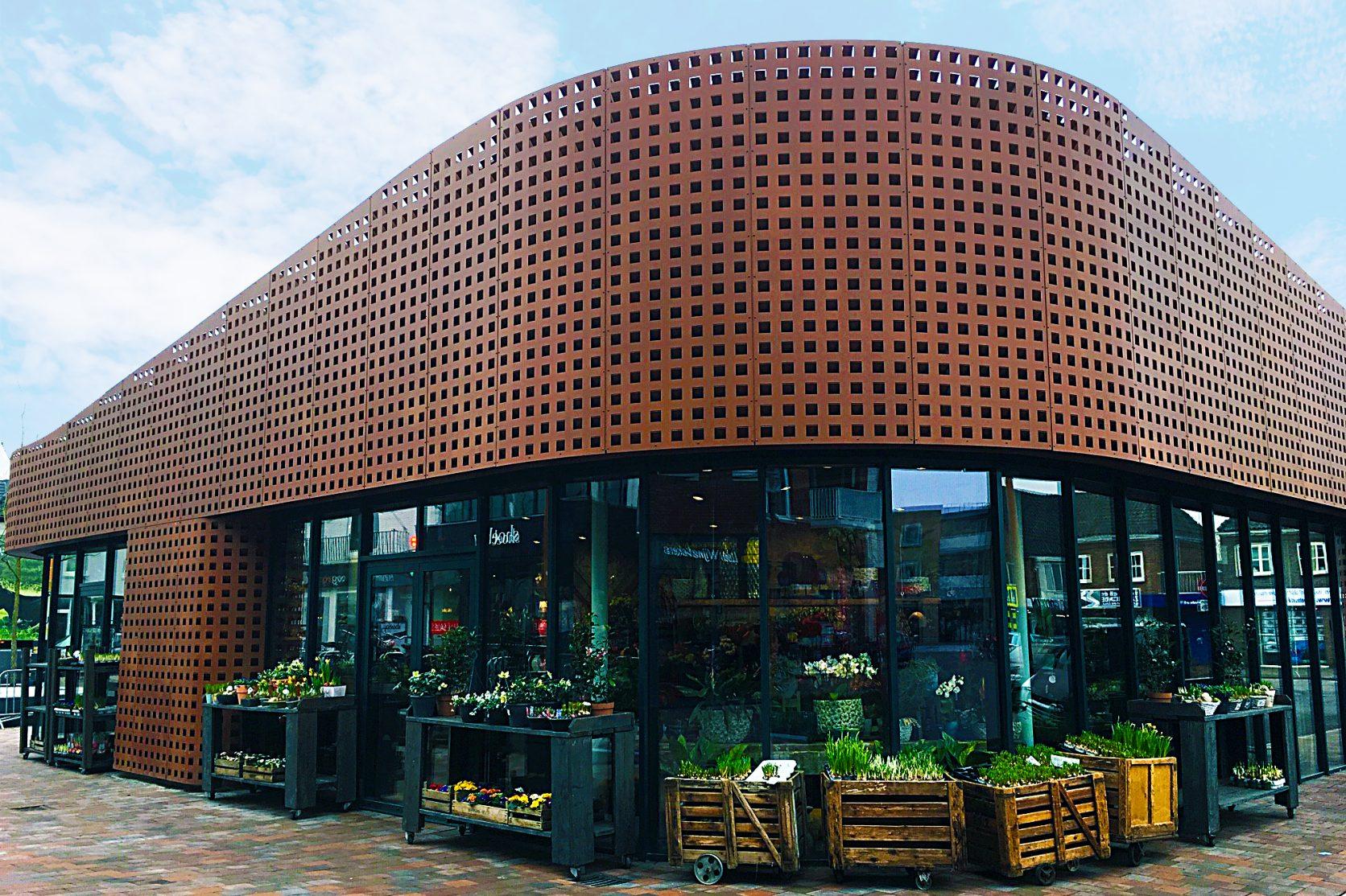 Vooraanzicht Paviljoen Vlijmen Bloemenwinkel