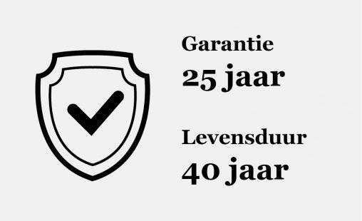 MD Durafol poedercoatsysteem 25 jaar garantie levensduur 40 jaar