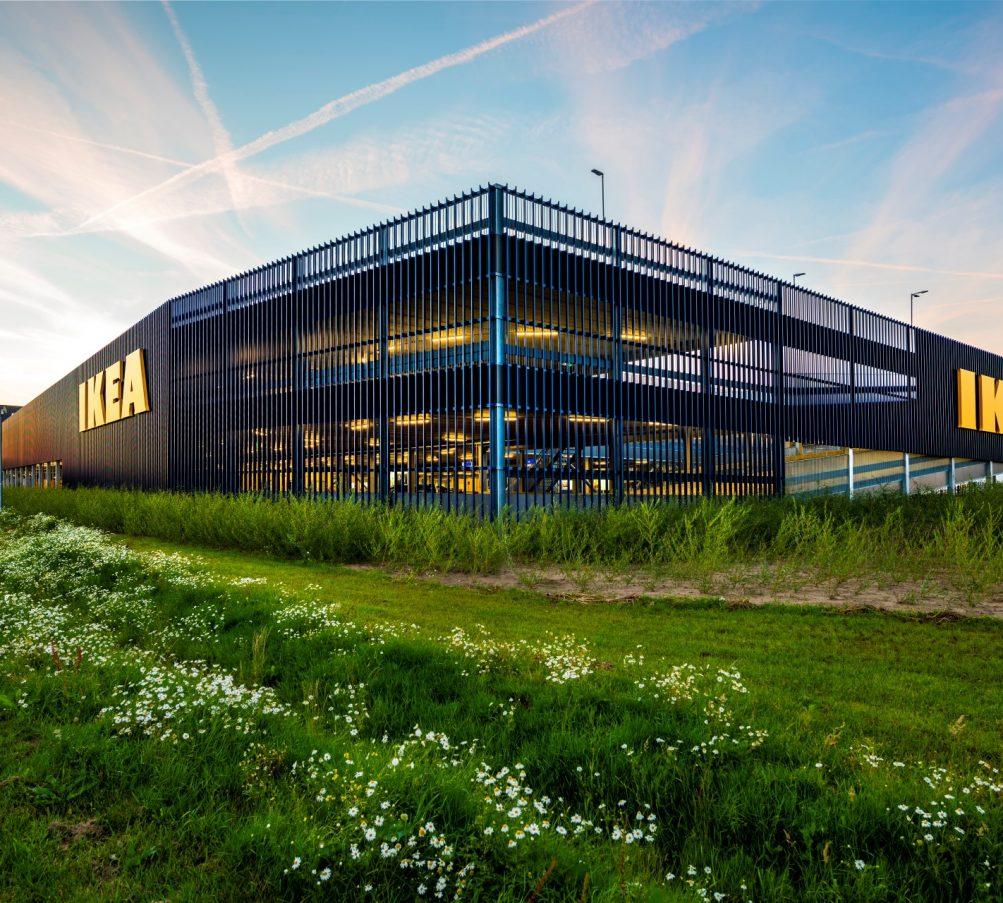 Ikea Zwolle Metadecor MD Lamel open gevelbekleding