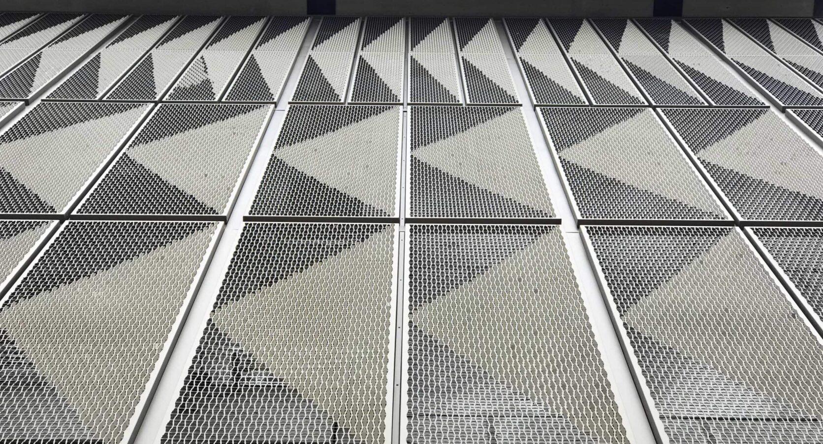 Detail MD Formatura gevelbekleding Parkeergarage Hudsons Bay Amstelveen