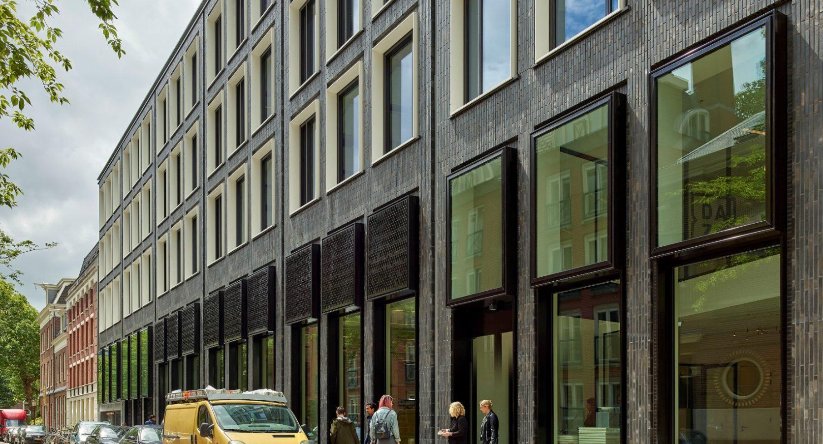 Huidekoperstraat Amsterdam gevel zijkant rechts