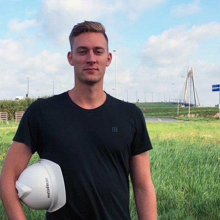 In gesprek met Danny, junior projectleider bij Metadecor in Kampen