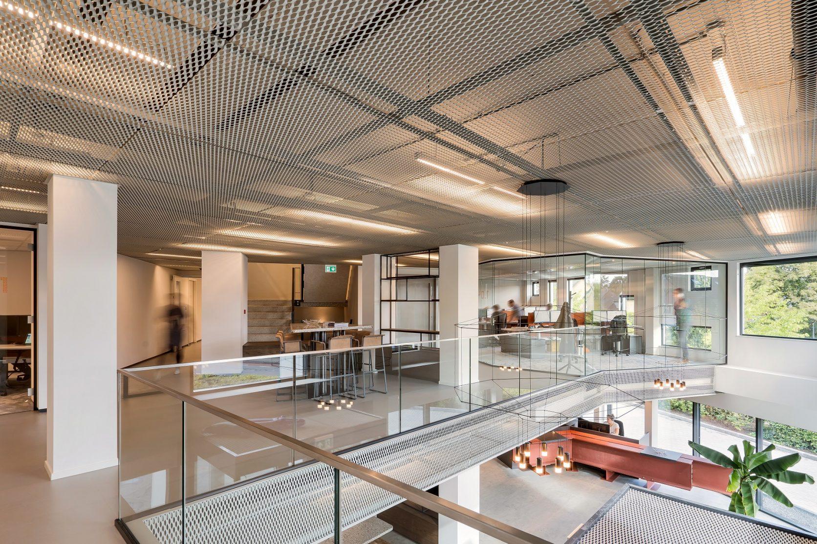 MD Strekmetaal Plafonds Kantoor Aan de Stegge Twello