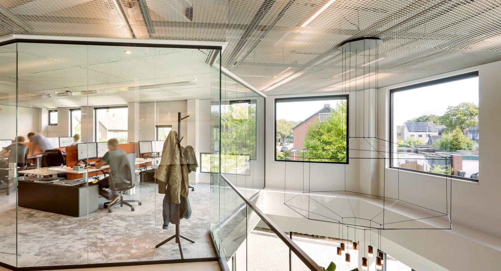 Plafonds MD Strekmetaal Kantoor Aan de Stegge Twello