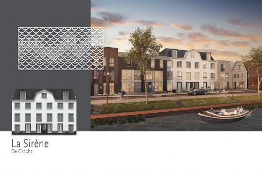 Woonwijk De Krijgsman in Muiden MD Designperforatie gevel