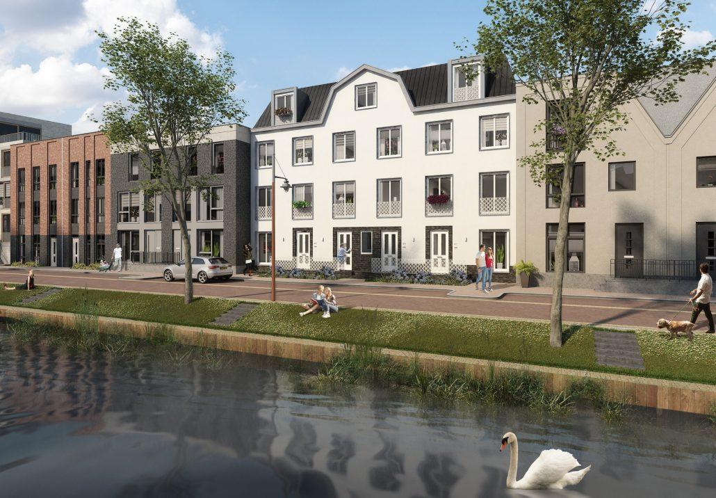 Woonwijk De Krijgsman in Muiden MD Designperforatie gevelpaneel