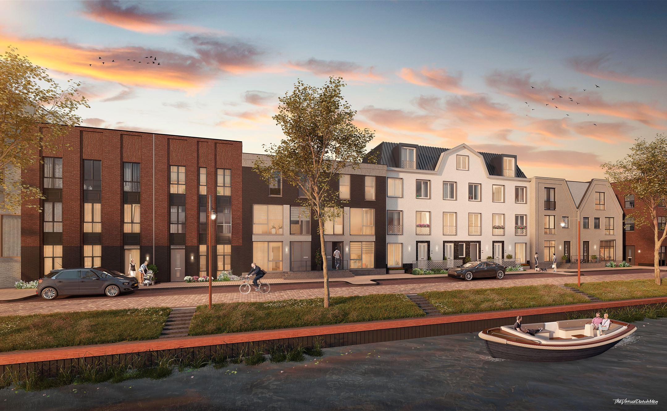 Woonwijk De Krijgsman in Muiden MD Designperforatie gevelpanelen
