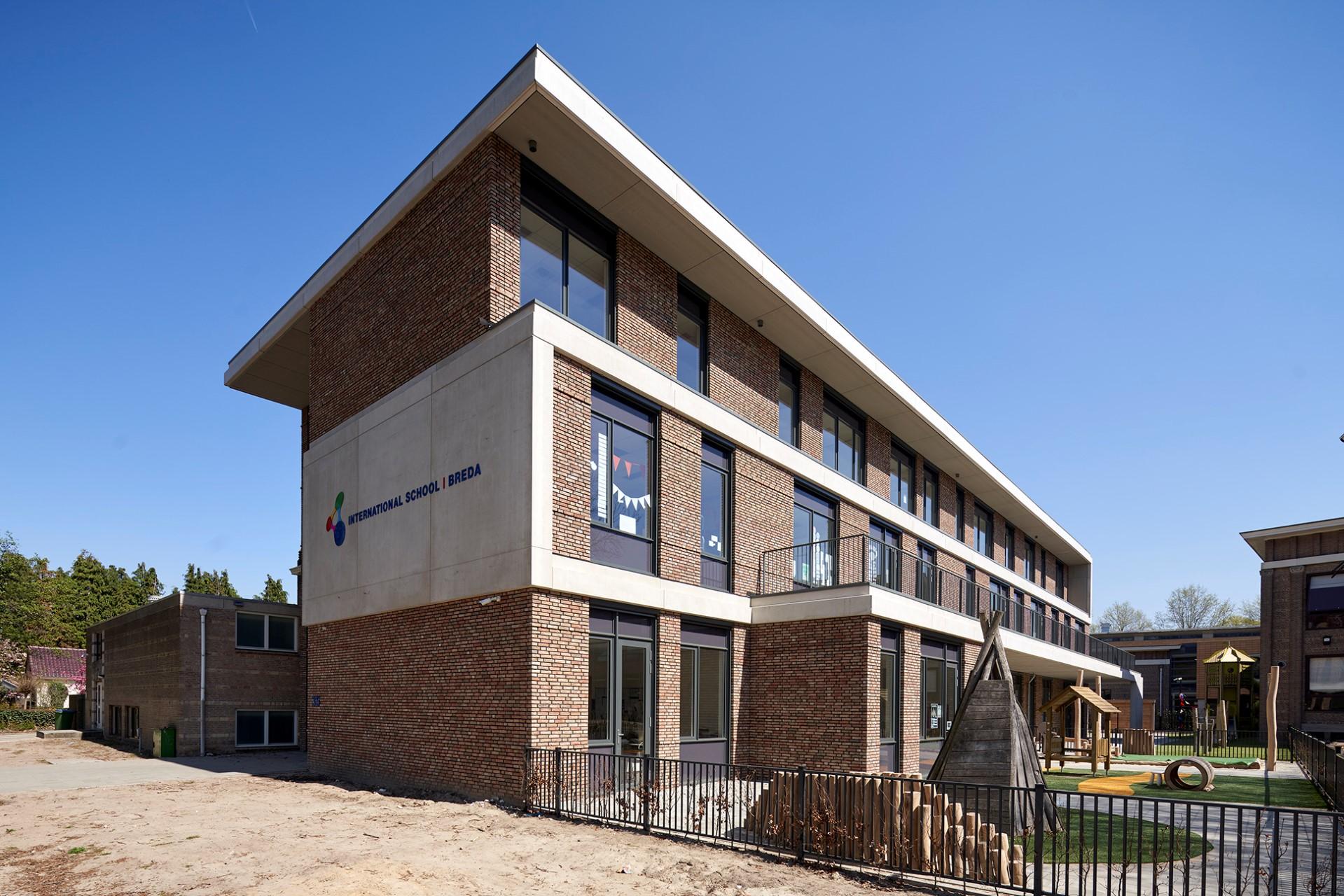 International Campus Breda MD Flack gevelbekleding geprint