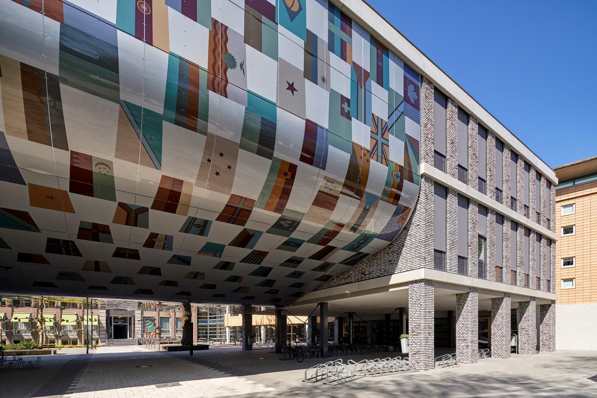 MD Flack gevelbekleding zijkant International Campus Breda