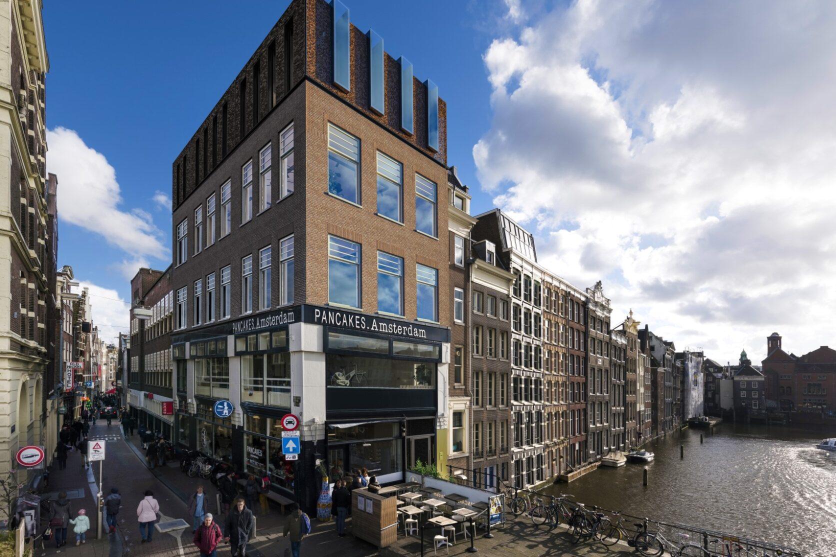 MD Formatura gevel Prins Hendrinkkade Amsterdam