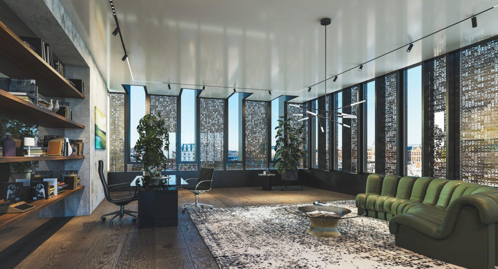 MD Formatura gevelbekleding Prins Hendrinkkade Amsterdam interieur