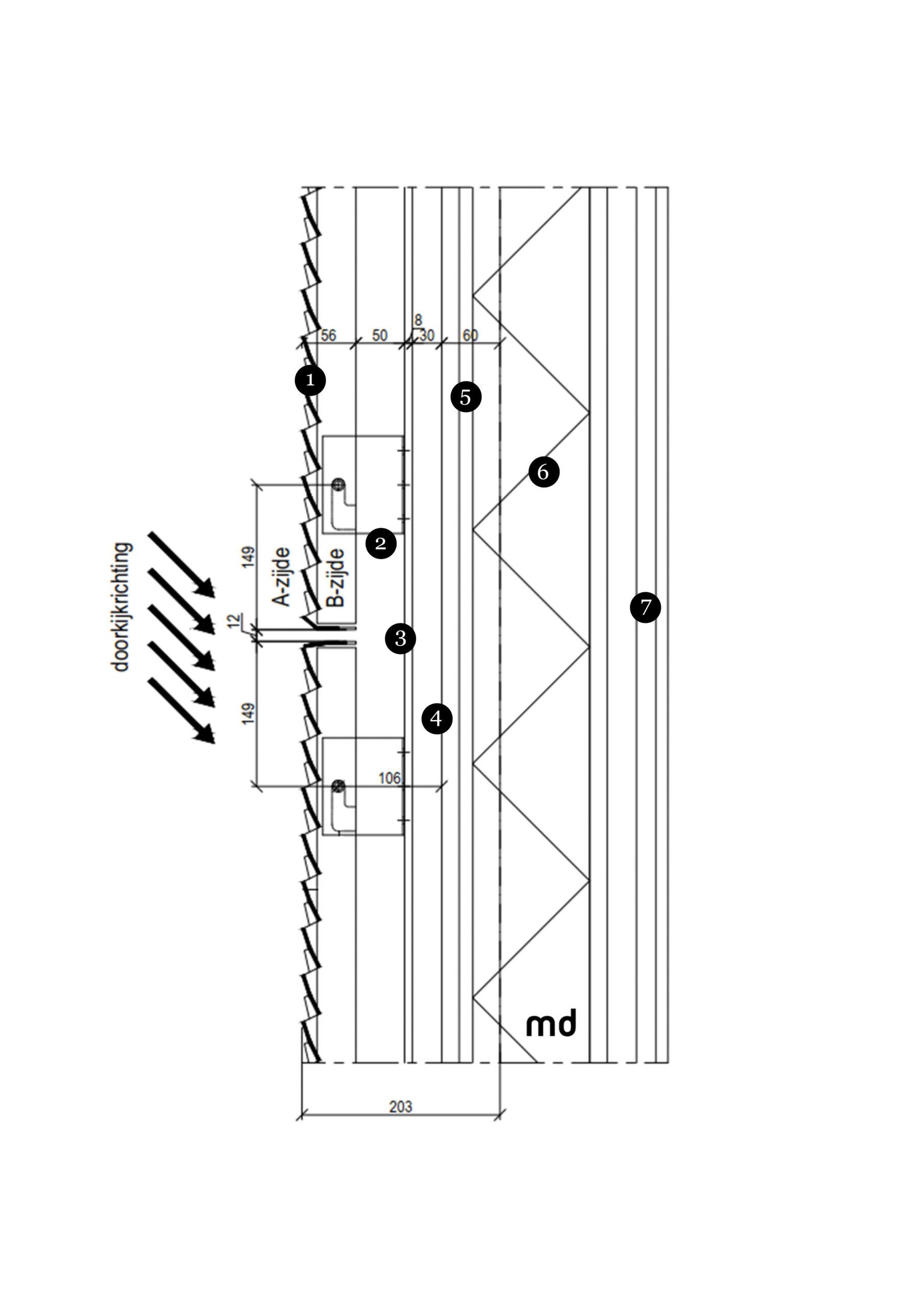5307 - V01 detail Nieuwe Ooster_Strekmetaal