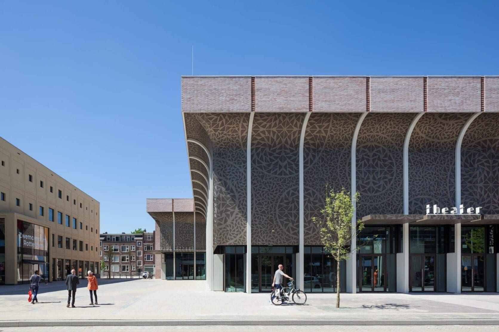 Theater Zuidplein genomineerd Archdaily Building of the year