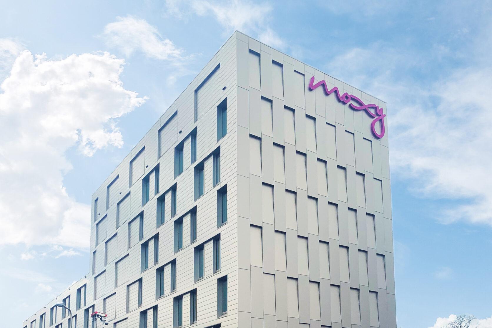Moxy Hotel Utrecht MD Flack gevelbekleding